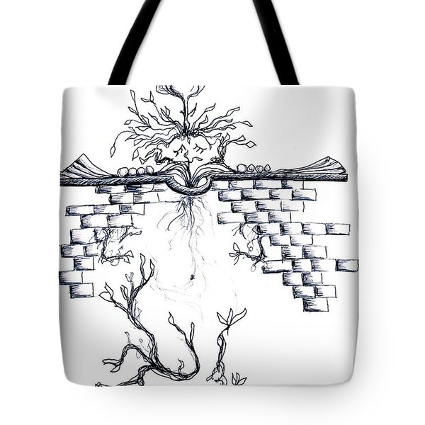 Growing Nowhere Tote Bag