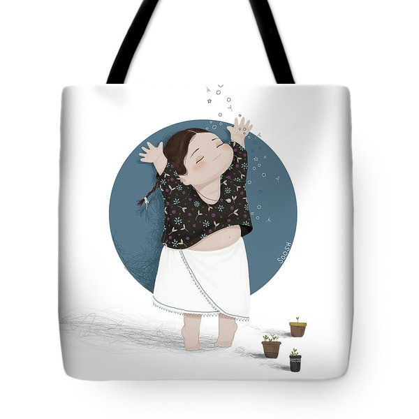 Growing Sprouts Tote Bag
