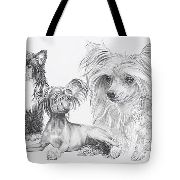 The Chinese Crested And Powderpuff Tote Bag