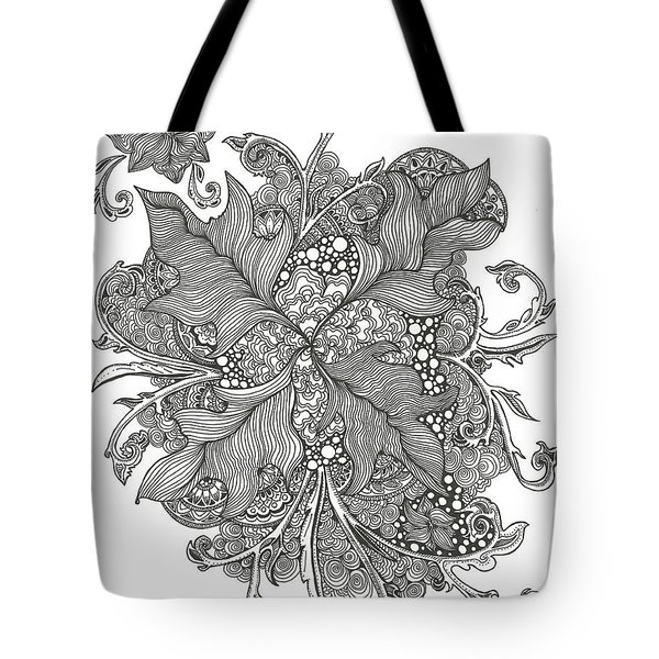 Growing Vines Tote Bag