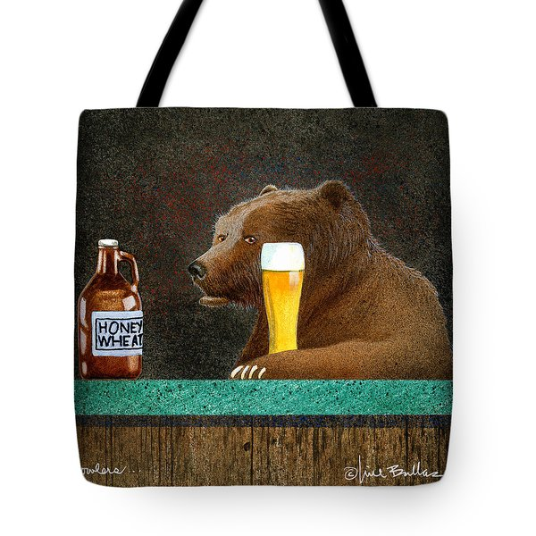 Growlers Tote Bag