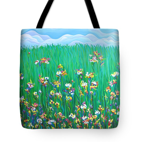 Grown To Distraction Tote Bag