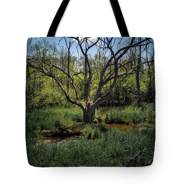 Growning From The Marsh Tote Bag