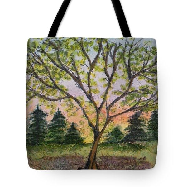 Growth Tote Bag by CB Woodling