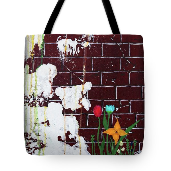 Growth Tote Bag by Cyrionna The Cyerial Artist