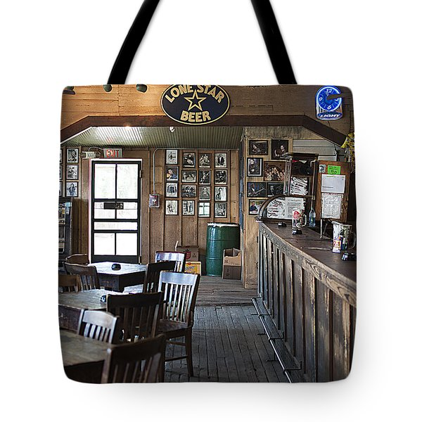 Gruene Hall Bar Tote Bag