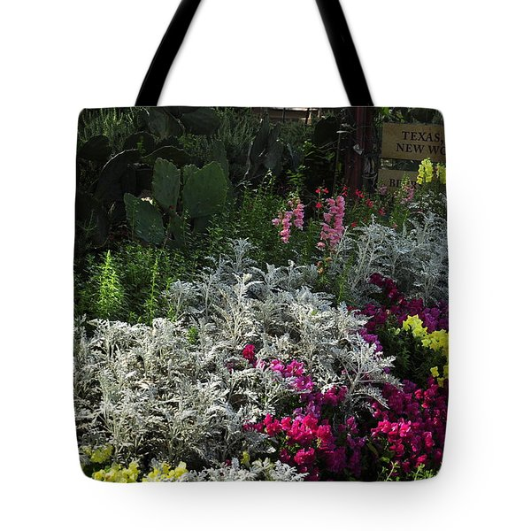 Tote Bag featuring the photograph Gruene II by Helen Haw