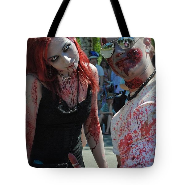 Gruesome Twosome Tote Bag