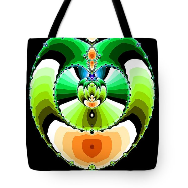 Tote Bag featuring the digital art Grufflixie by Andrew Kotlinski
