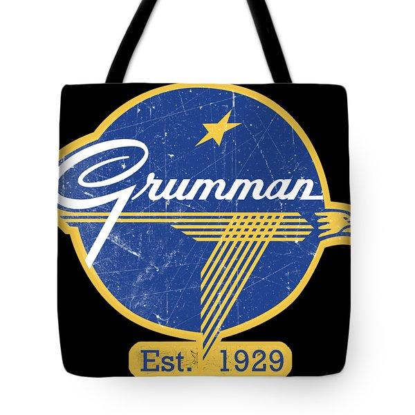 Grumman Est 1929 Distressed Tote Bag