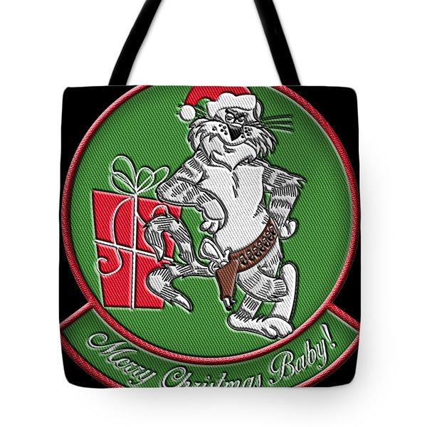 Grumman Merry Christmas Tote Bag