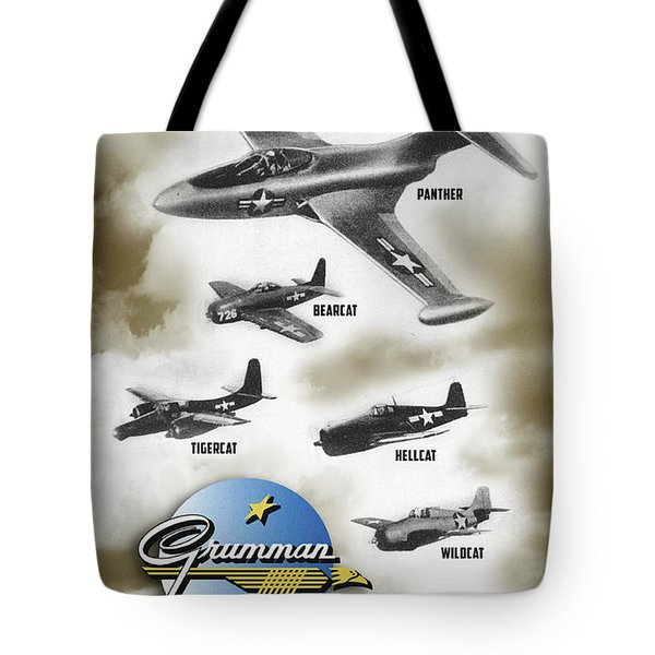 Grumman Ready When Needed Tote Bag