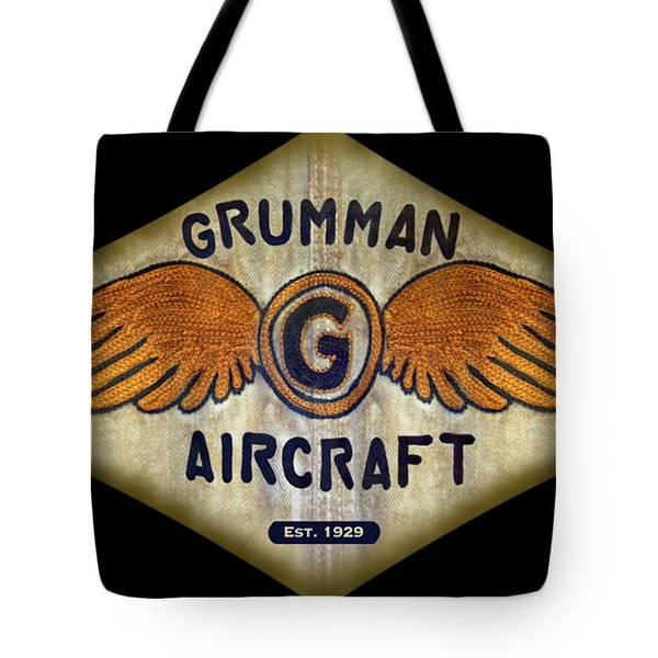 Grumman Wings Diamond Tote Bag