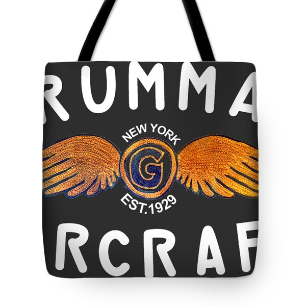 Grumman Wings Gold Tote Bag