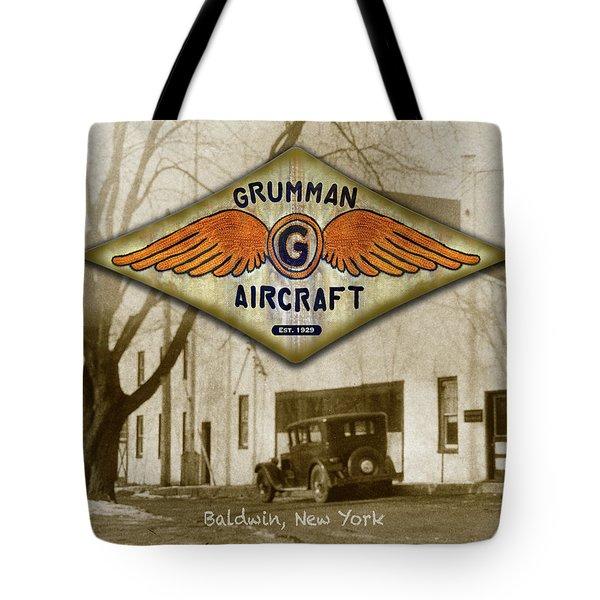 Grumman Wings Tote Bag