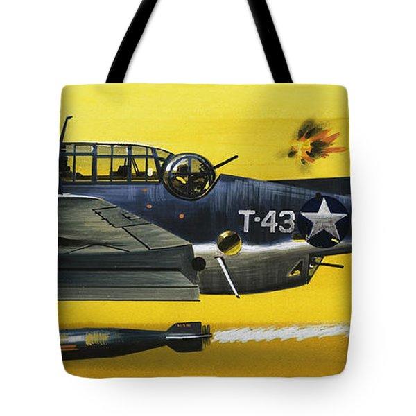 Grummen Tbf1 Avenger Bomber Tote Bag