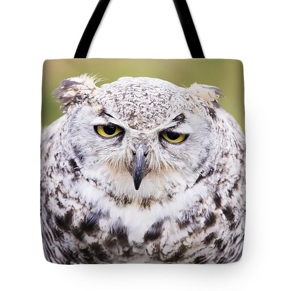 Tote Bag featuring the photograph Grumpy Face by Windy Corduroy