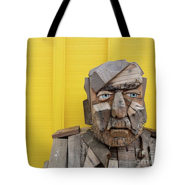 Tote Bag featuring the photograph Grumpy Old Man by Edward Fielding