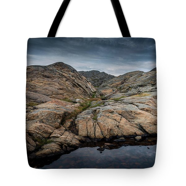 Grundsund, Sweden Tote Bag by Martina Thompson
