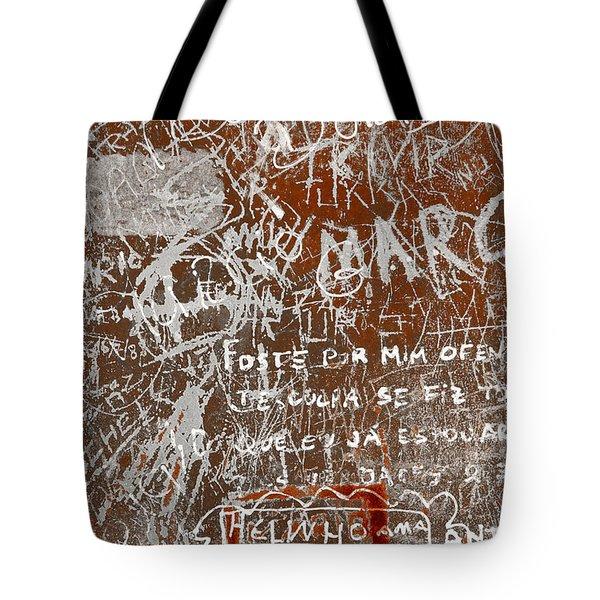 Grunge Background Tote Bag by Carlos Caetano