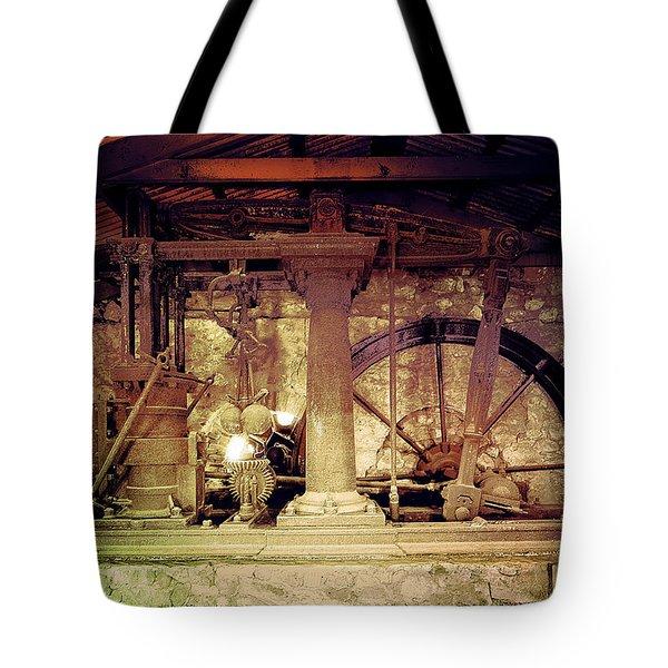 Grunge Cane Mill Tote Bag