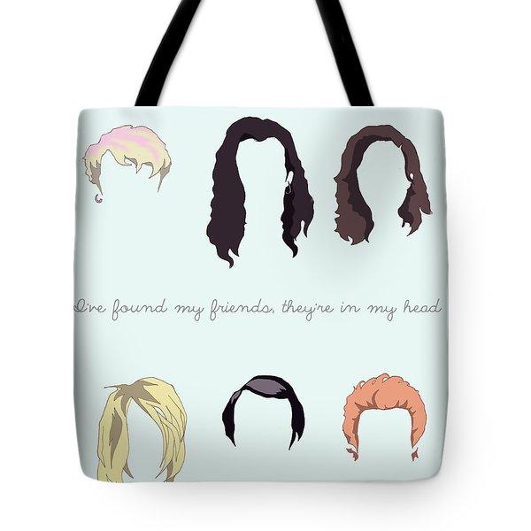 Grunge Hair Tote Bag