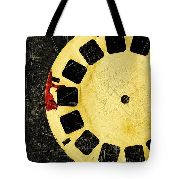 Grunge Toy Artwork Tote Bag