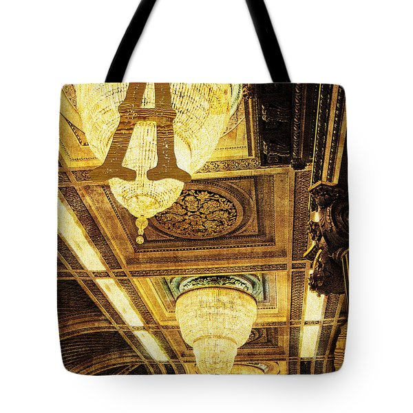 Grungy Melbourne Australia Alphabet Series Letter A Assembly Cha Tote Bag