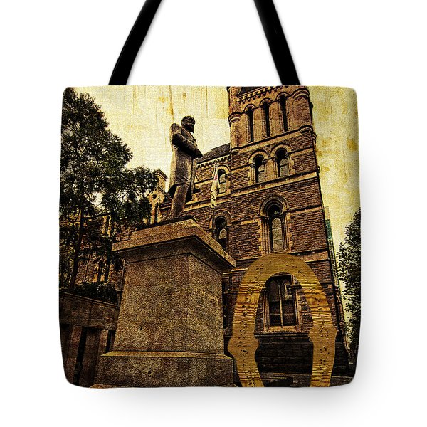 Grungy Melbourne Australia Alphabet Series Letter O Francis Ormo Tote Bag