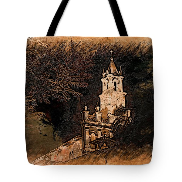 Grungy Todos Santos Tote Bag