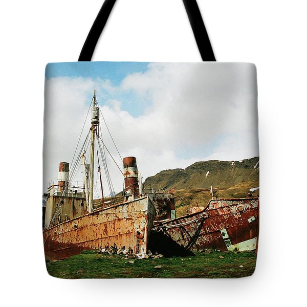Grytviken Ghosts Tote Bag