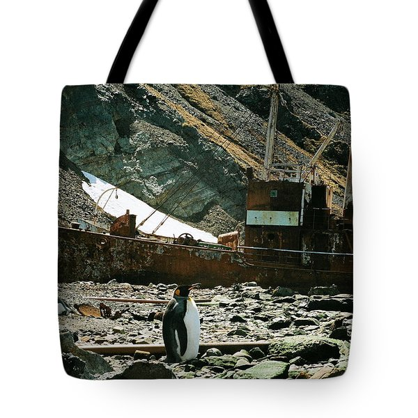 Grytviken Sentinel Tote Bag
