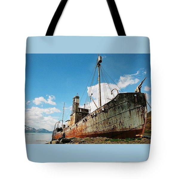 Grytviken Whaler Tote Bag