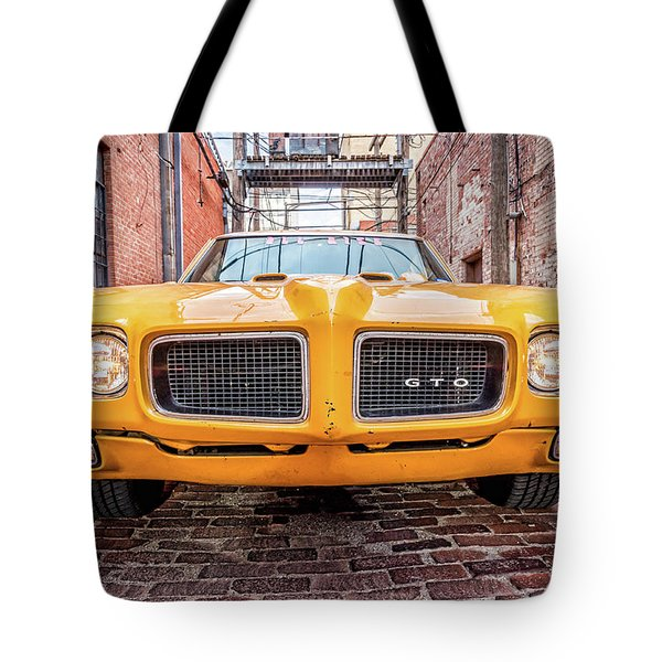 Gto - Pontiac Muscle Tote Bag