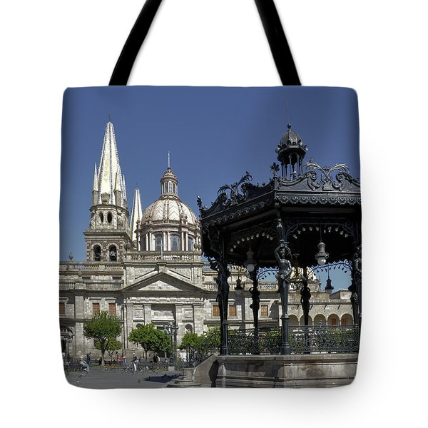 Tote Bag featuring the photograph Guadalajara by Jim Walls PhotoArtist