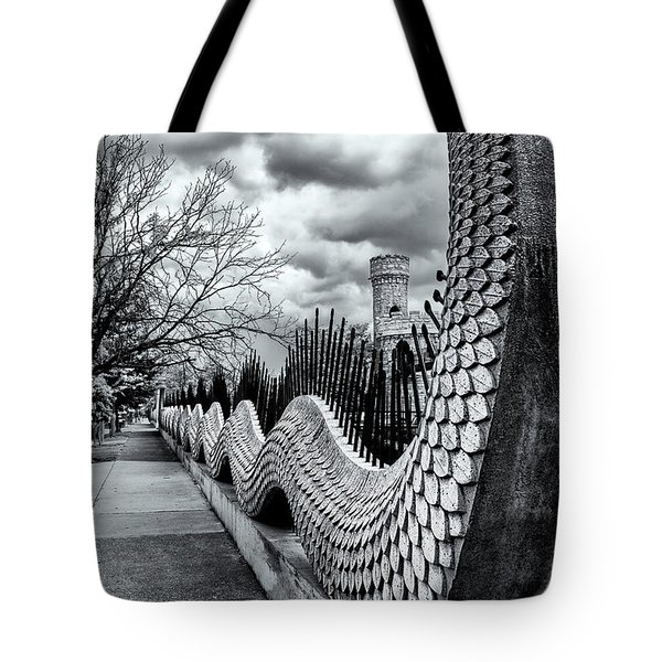Guading The Castle Tote Bag