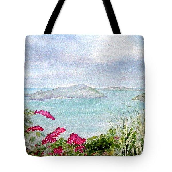 Guana Island Tote Bag