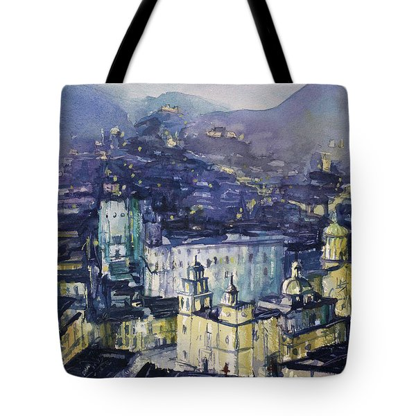 Guanajuato At Night Tote Bag