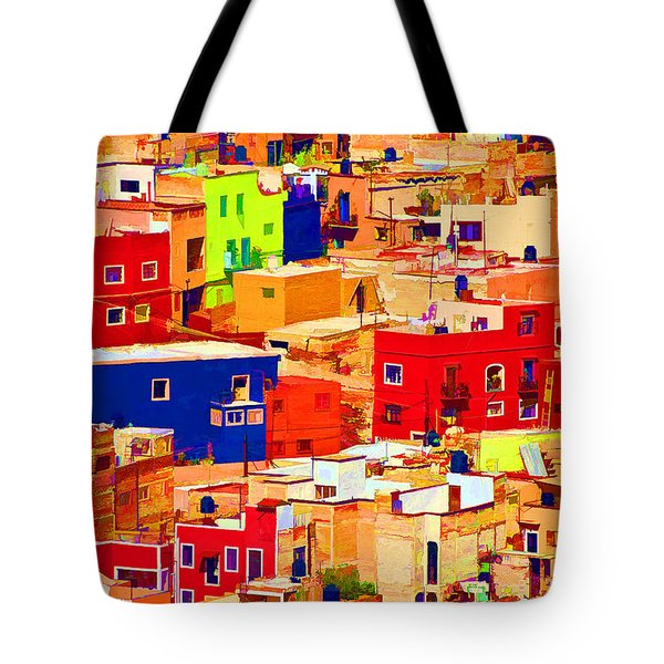 Tote Bag featuring the photograph Guanajuato Color by Dennis Cox WorldViews