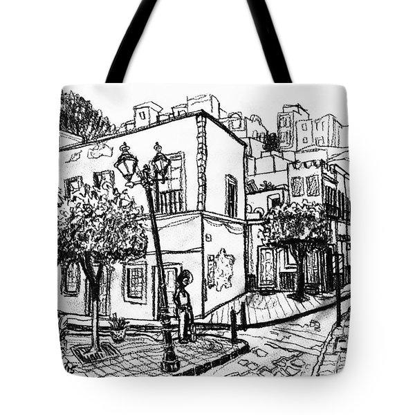 Guanajuato Street Tote Bag by Rich Travis