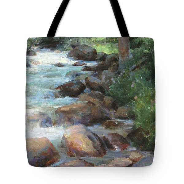 Guanella Pass Stream Tote Bag