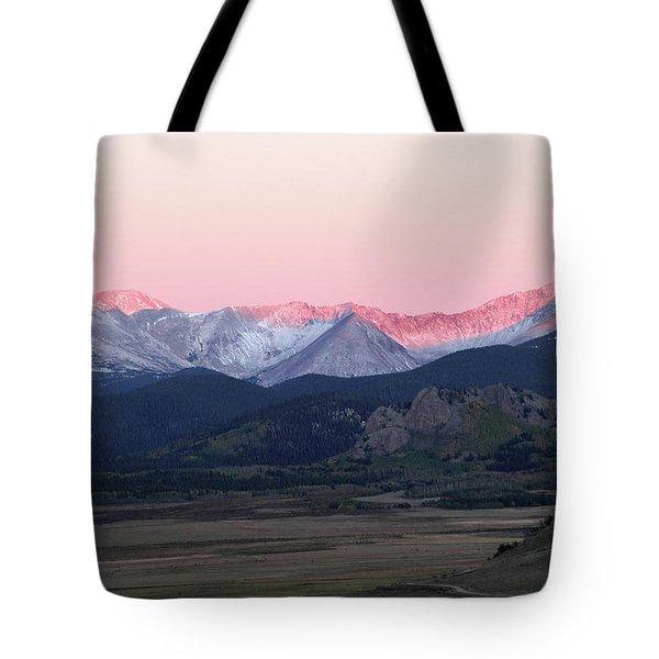 Guanella Sunrise Tote Bag