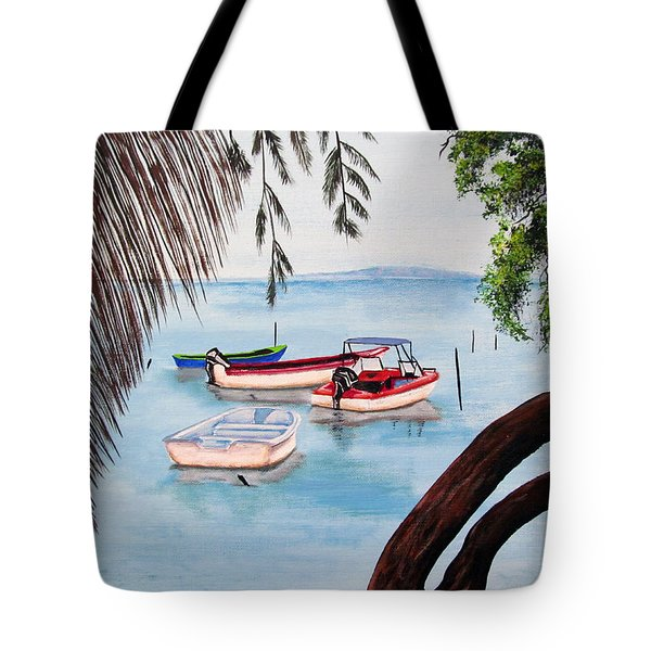 Guanica Bay Tote Bag