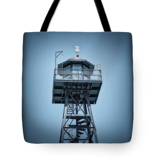 Guard Gulls Tote Bag