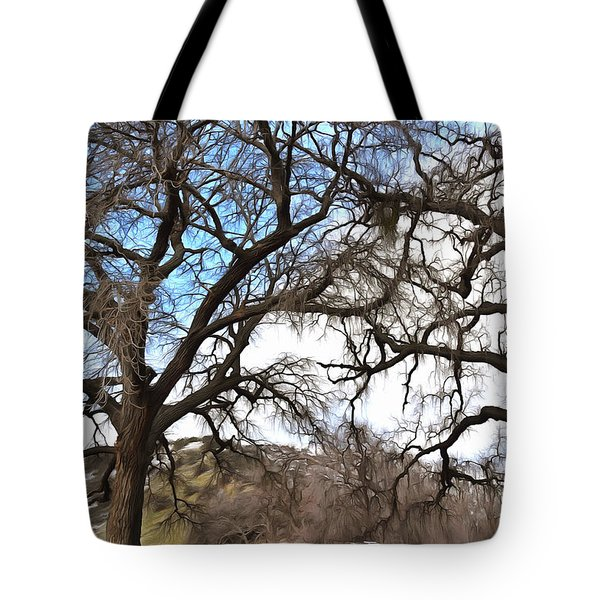 Tote Bag featuring the photograph Guard Shack At Fort Tejon Lebec California by Floyd Snyder