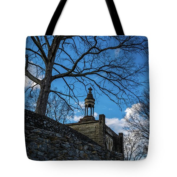 Guarded Summit Memorial Tote Bag