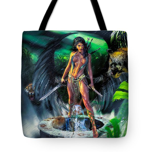 Tote Bag featuring the photograph Guarded Treasure by Glenn Feron