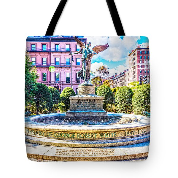 Tote Bag featuring the photograph Guardian Angel by Anthony Baatz