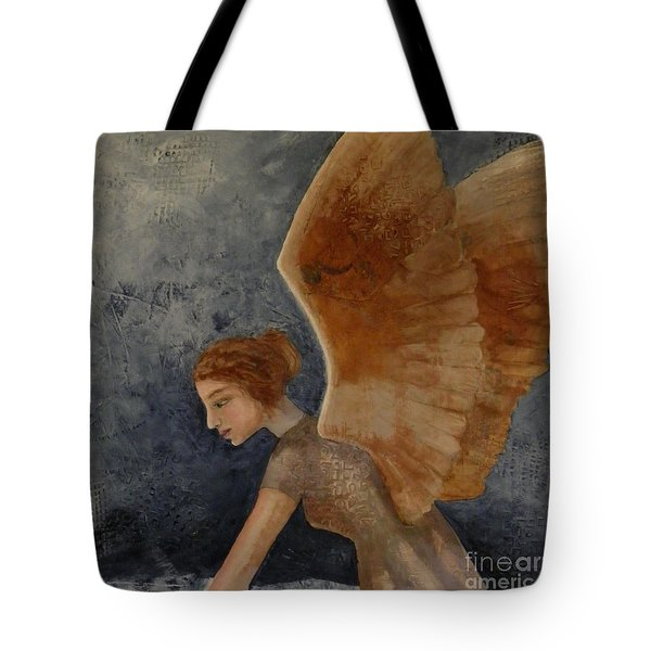 Guardian Angel Tote Bag by Terry Honstead
