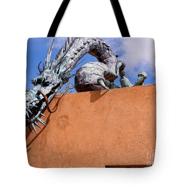 Santa Fe Guardian Dragon Tote Bag